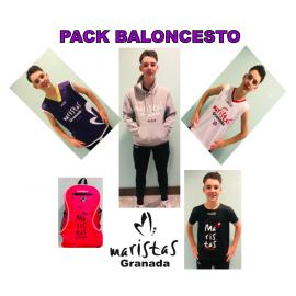 1.2 PACK COMPLETO BALONCESTO MARISTAS GRANADA AHORRO 44€