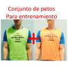 2- REGALO CONJUNTO DE PETOS PERSONALIZADOS CD REGINA MUNDI  A LOS INSCRITOS EN FÚTBOL