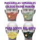 CONJUNTO DE 4 MASCARILLAS PERSONALIZADAS COLEGIO PADRE MANJÓN PARA SOCIOS DEL AMPA
