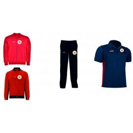 PACK 3 Chaqueta + pantalón deportivo + polo TIRO LINENSE