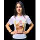 Camiseta de manga corta personalizable a todo color pecho y espalda