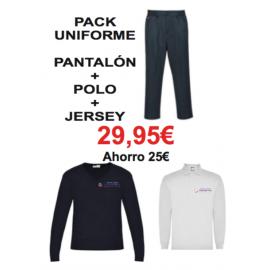 Pack pantalón + polo + jersey Language4you