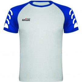 CAMISETA PLAY BLANCO-ROYAL